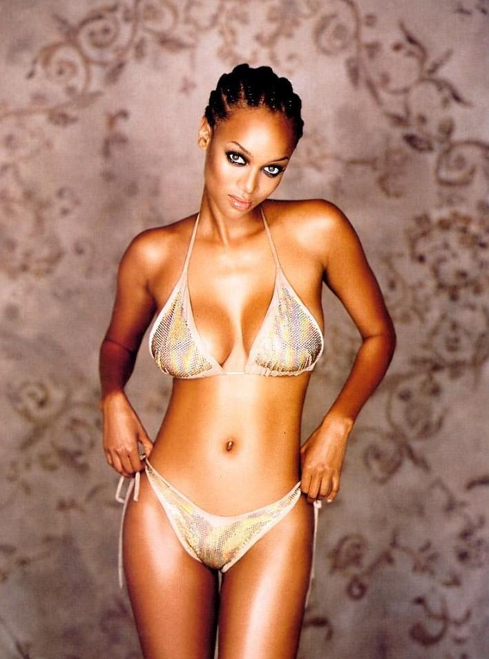 Free tyra banks naked picture