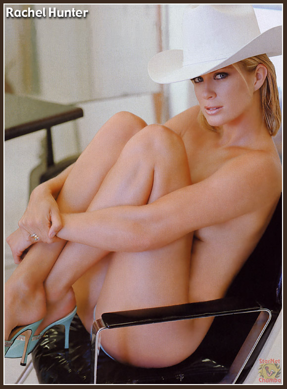 Rachel Hunter en Playboy - Fotos de Famosas Desnudas