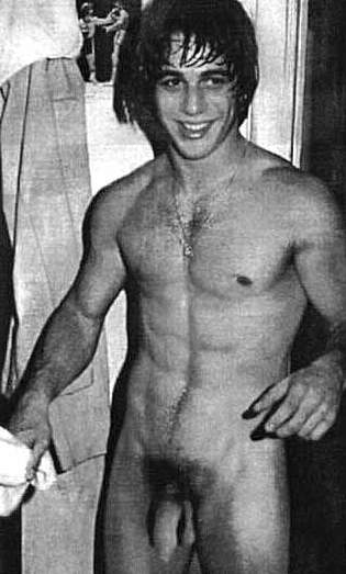 Tony Danza posing sexy
