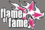 Flame of Fame logo