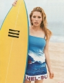 Jessica Biel loves surfing