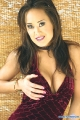 Asia Carrera showing plunging neckline