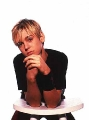 Aaron Carter posing hot
