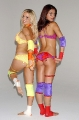 Adrianne Curry with blondie