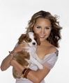 Amanda Bynes with puppy