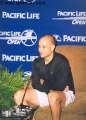 Andre Agassi in shorts