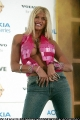 Anna Nicole Smith on Live 8 promotion