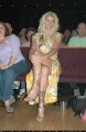 Anna Nicole Smith sitting in cinema