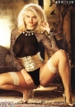 Anna Nicole Smith nice dressed with spreaded legs