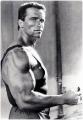 Arnold Schwarzenegger looks sexy