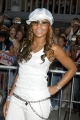 Sweet Ashanti wearing white shimmy and  sunglasses