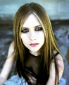 Blue eyed Avril Lavigne