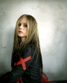 Avril Lavigne red cross