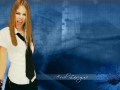 Wallpaper with Avril Lavigne