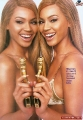 Beyonce Knowles with Golden Gun