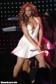 Beyonce Knowles dancing on stage