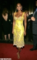Beyonce Knowles in yellow dress