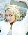 Beautiful Britney Spears dressed white