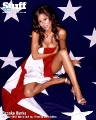 Brooke Burke and The USA National Flag