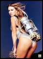 Carmen Electra with jetpack
