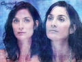 Carrie Anne Moss sexy wallpaper