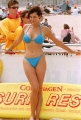 Catherine Bell goes surfing