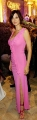 Catherine Bell in pink dress