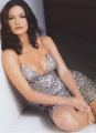 Catherine Zeta Jones in beautiful silver dress