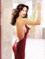 Catherine Zeta Jones in great red dress