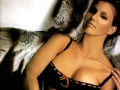 Charisma Carpenter in black lingerie