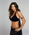 Great photo of Charisma Carpenter dressed violet