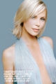 Charlize Theron wearing great transparent dress