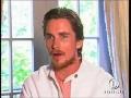 Christian Bale posing sexy