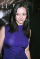 Christina Ricci in nice transparent blue dress