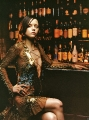 Christina Ricci by the bar