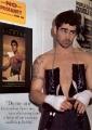 Colin Farrell posing sexy