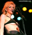 Courtney Love on concert