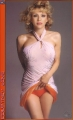 Courtney Love in pink dress