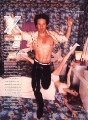 David Duchovny posing shirtless hot