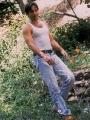 David Duchovny posing hot