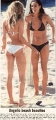 Demi Moore on the beach