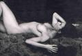 Demi Moore posing nude