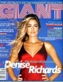 Denise Richards on the Giant cover