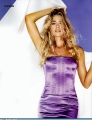 Denise Richards in beautiful violet dress