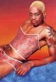 Dennis Rodman posing sexy