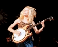 One of Dixie Chicks playing Banjo