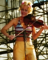 One of Dixie Chicks on concert