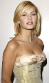 Elisha Cuthbert in golden dress