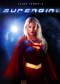 Elisha Cuthbert as a supergirl