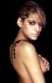 Eva Mendes posing topless